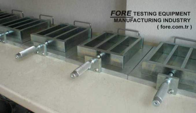 - Cement Testing molds