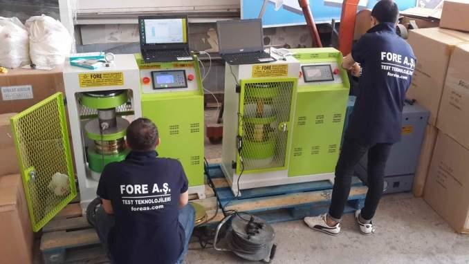 - Concrete Compression Testing Machine