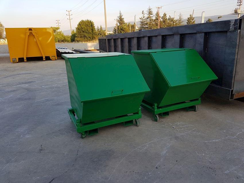 0,5 m3 forklift bins