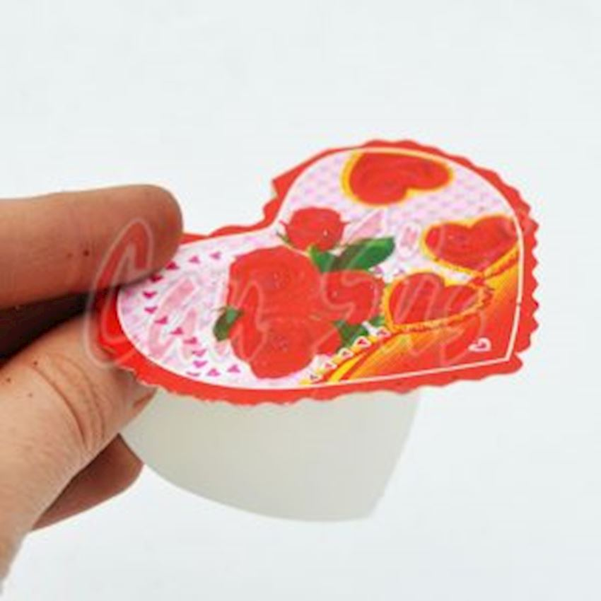 10 Heart Mini Gift Note Card 4cm Event & Party Supplies