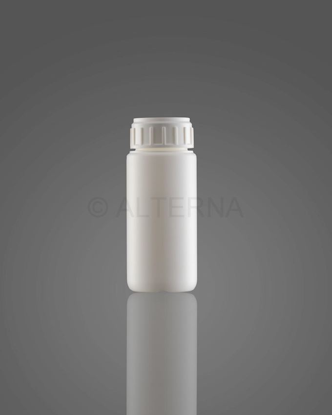 100 ml HDPE Bottle with Alu. Seal Cap