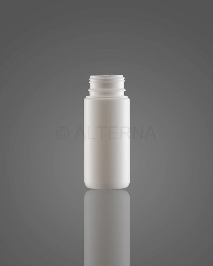 100 ml HDPE Bottle with Vented Secure Cap