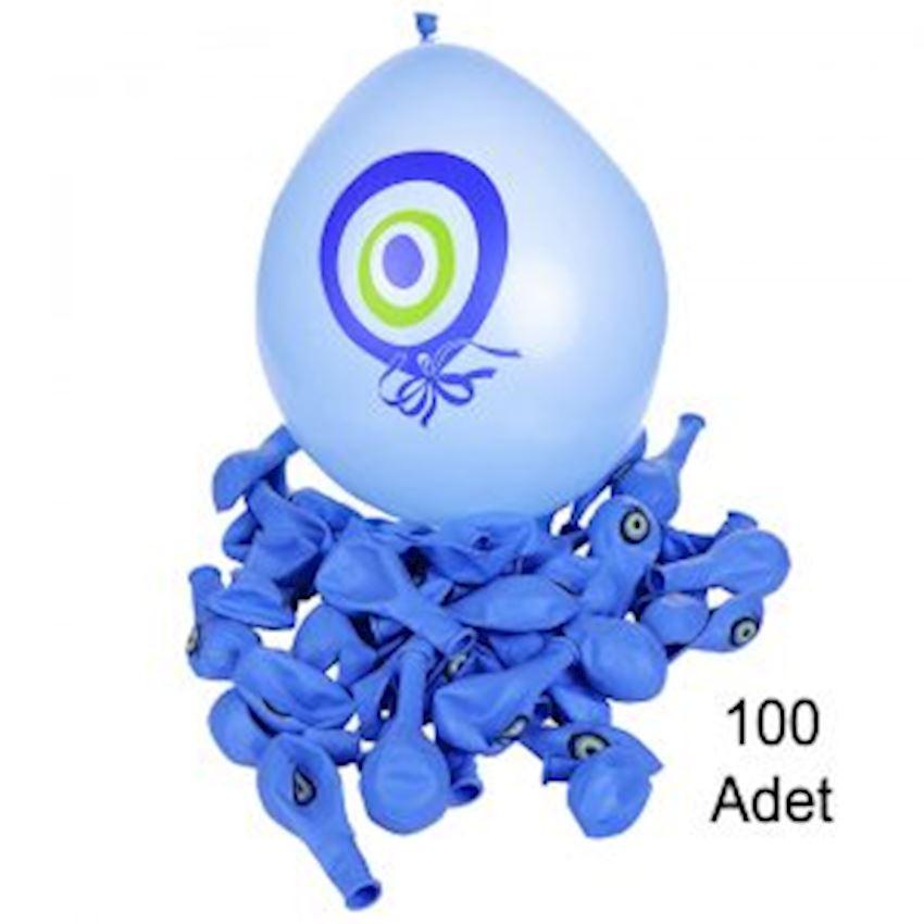 100 Piece Evil Eye Beaded Circumcision Balloon Laci Event & Party Supplies