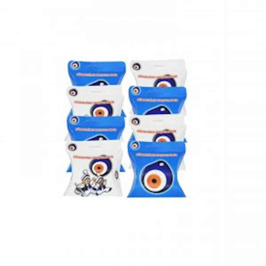 100 Pieces of Cardboard Sunnah with Evil Eye Beads Event & Party Supplies