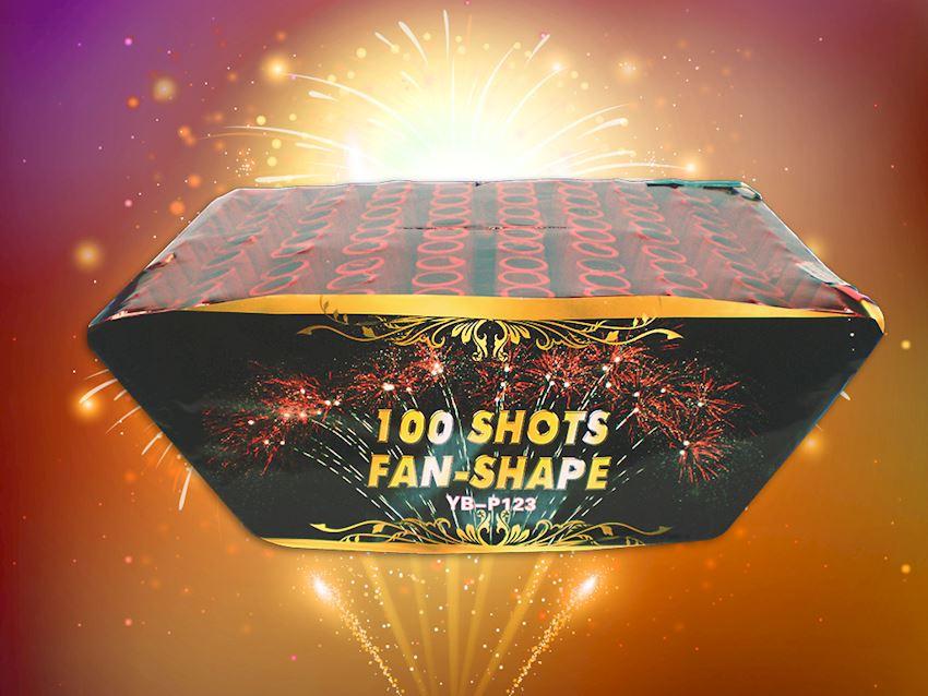100 Shots Fan Shape