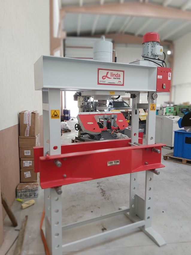 100 Ton Motor Linda Machine Hydraulic Workshop Press