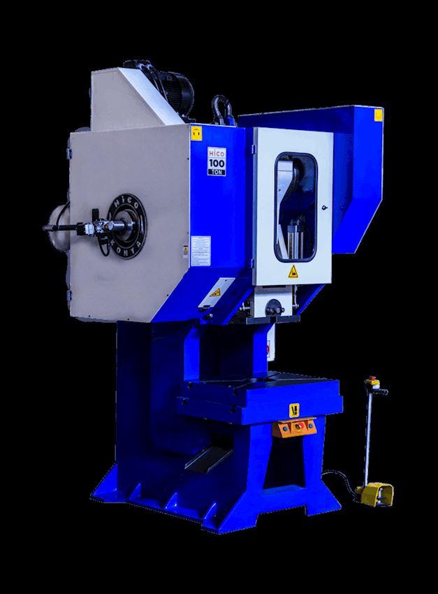 100 Ton Pneumatic Clutch Angling Eccentric Press