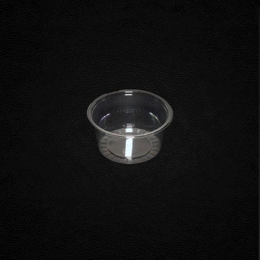 100cc Pet Sauce Cup Ø75mm