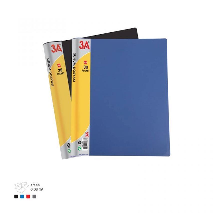 1088 3A Clear File 30 Pockets File Folder Accessories