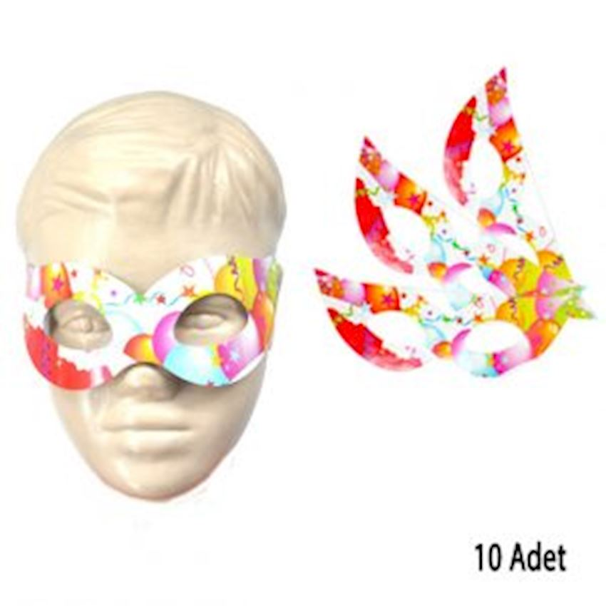 10pcs Carton Eye Party Mask 18cm Event & Party Supplies