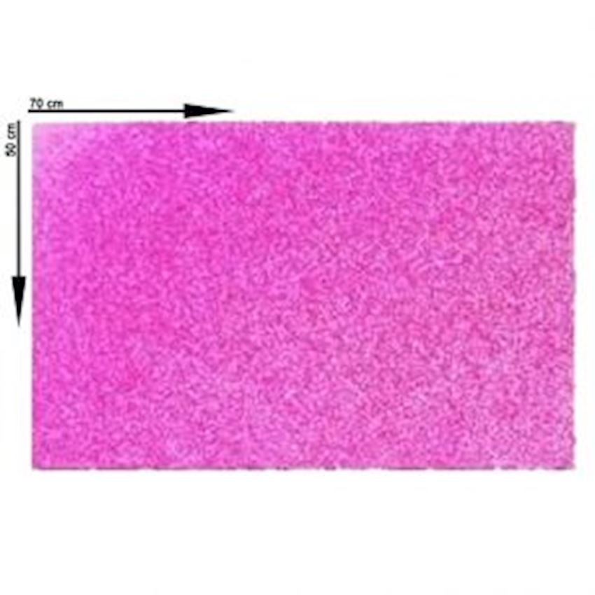 10s Silvery Eva Material Pink 50X70cm Event & Party Supplies