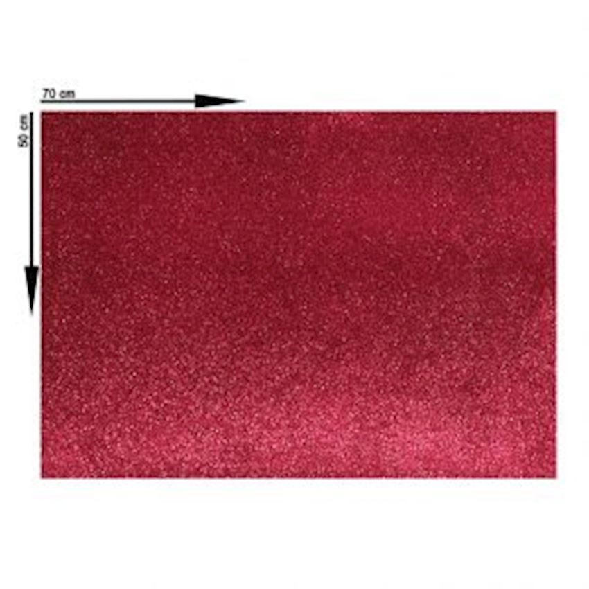 10s Silvery Eva Material Red 50X70cm Event & Party Supplies