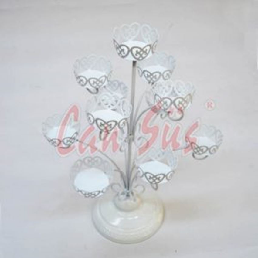 11 Piece Metal Tree Shaped Cupcake Stand - Cake Stand Event & Party Supplies