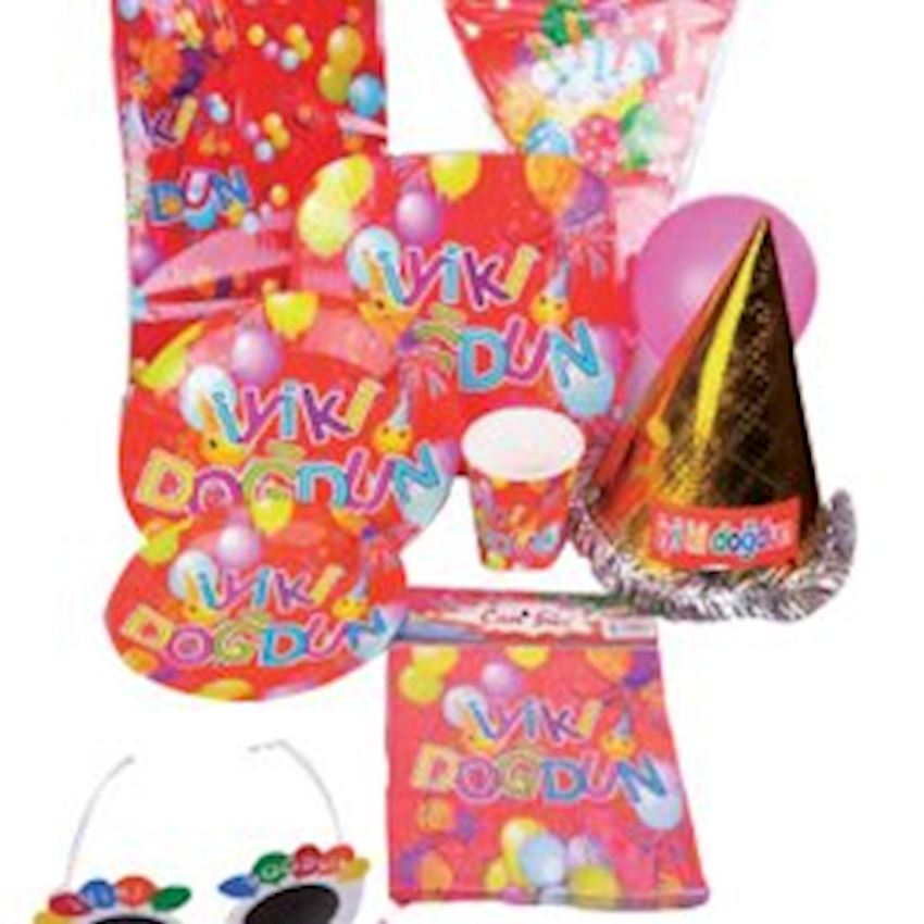 12 Person Birthday Party Set 79 Pieces Event & Party Supplies