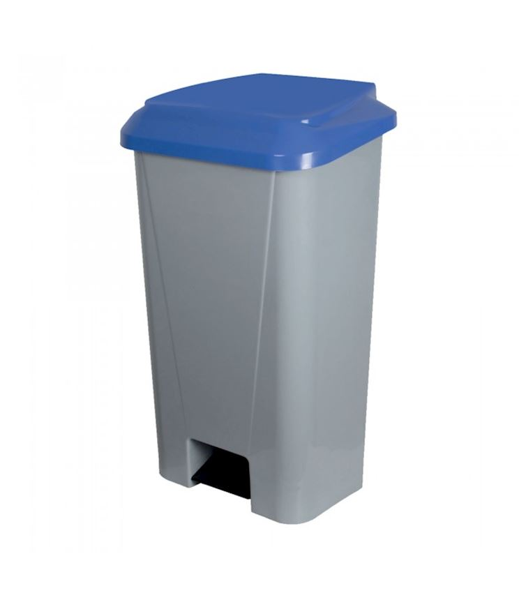 120 Liter Gray Pedal Waste Container Waste Bins