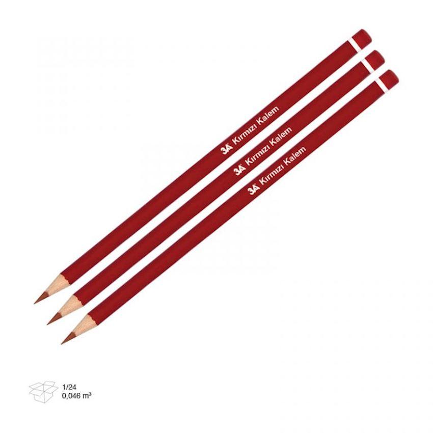 1274 3A Red Pencil Standard Pencils