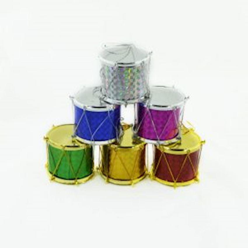 12li Mini Drum Christmas Tree Decoration Christmas Decoration Supplies