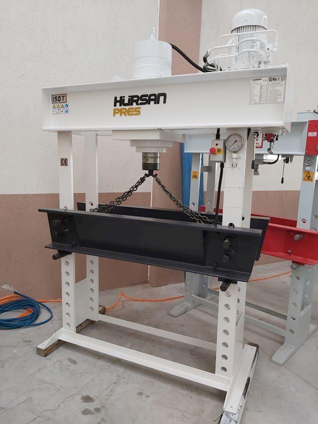 150 Ton Hürsan Hydraulic Press Traveling Head Arm Motor