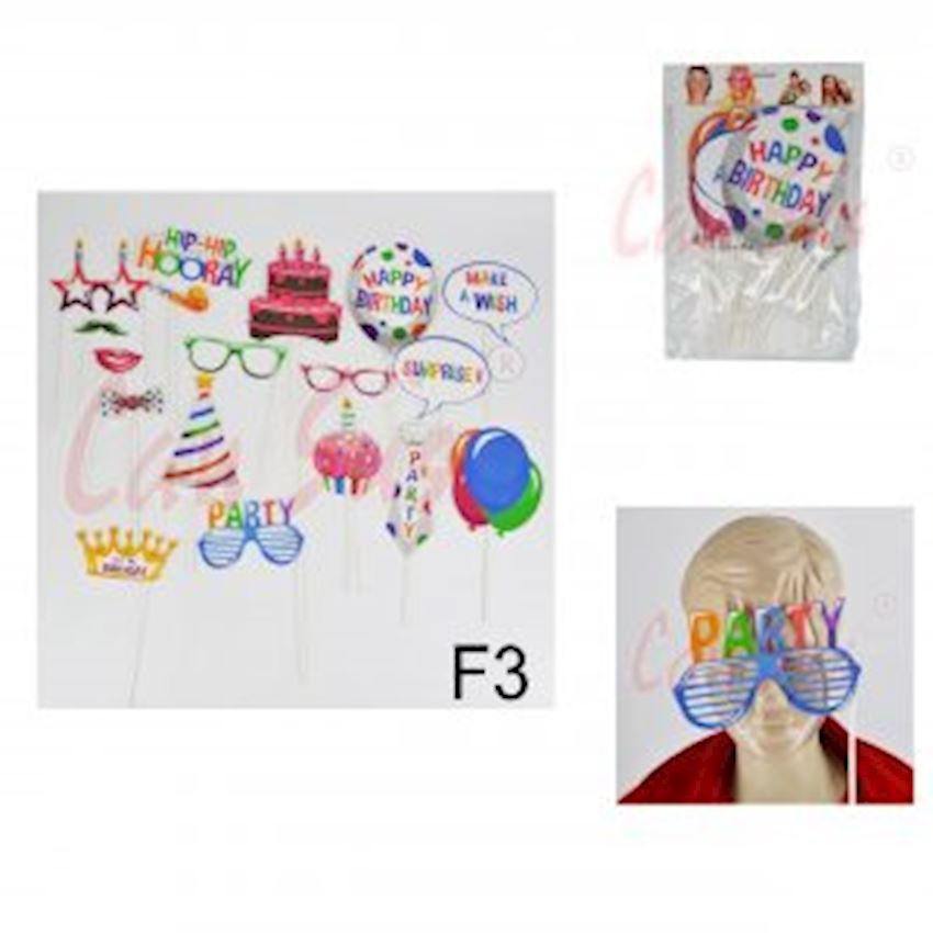 18th Birthday Themed Stick Banner Set Event & Party Supplies