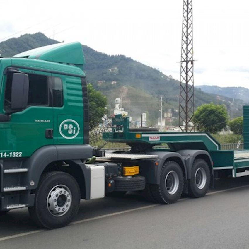 2 AXLE LOWBED Truck Trailers