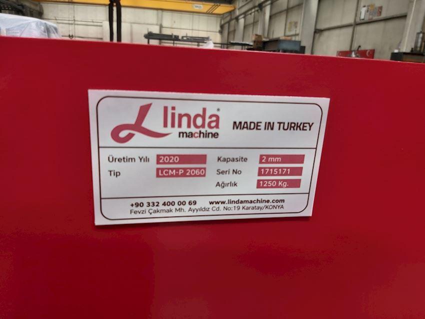 2060 x 2.0mm Linda Machine Folding Knife Clamp