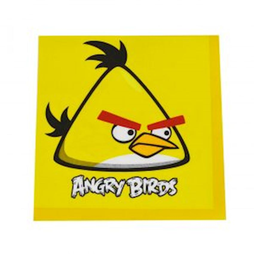 20s Angry Birds Printed Paper Napkin Event & Party Supplies