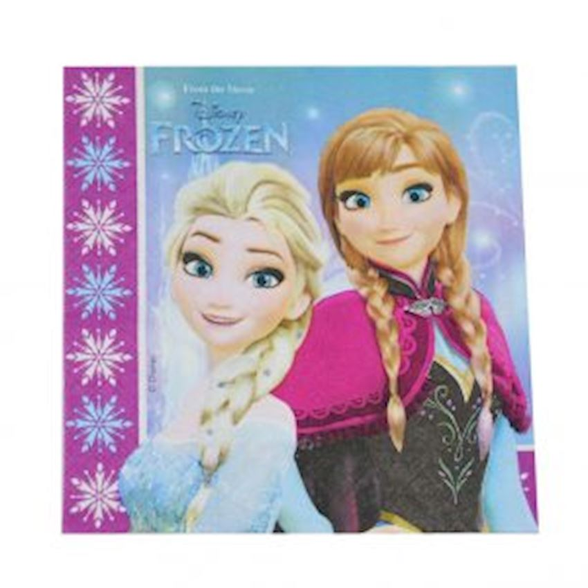 20s Frozen Snow Country Printed Paper Napkin Event & Party Supplies