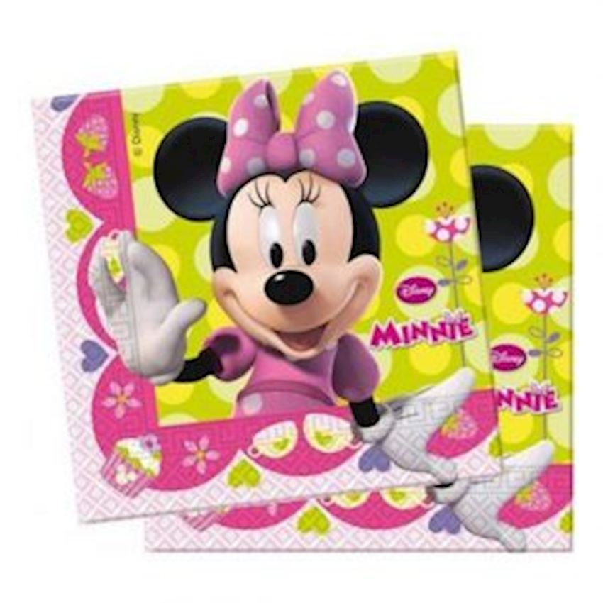 20s Minnie Mouse Printed Paper Napkin Event & Party Supplies