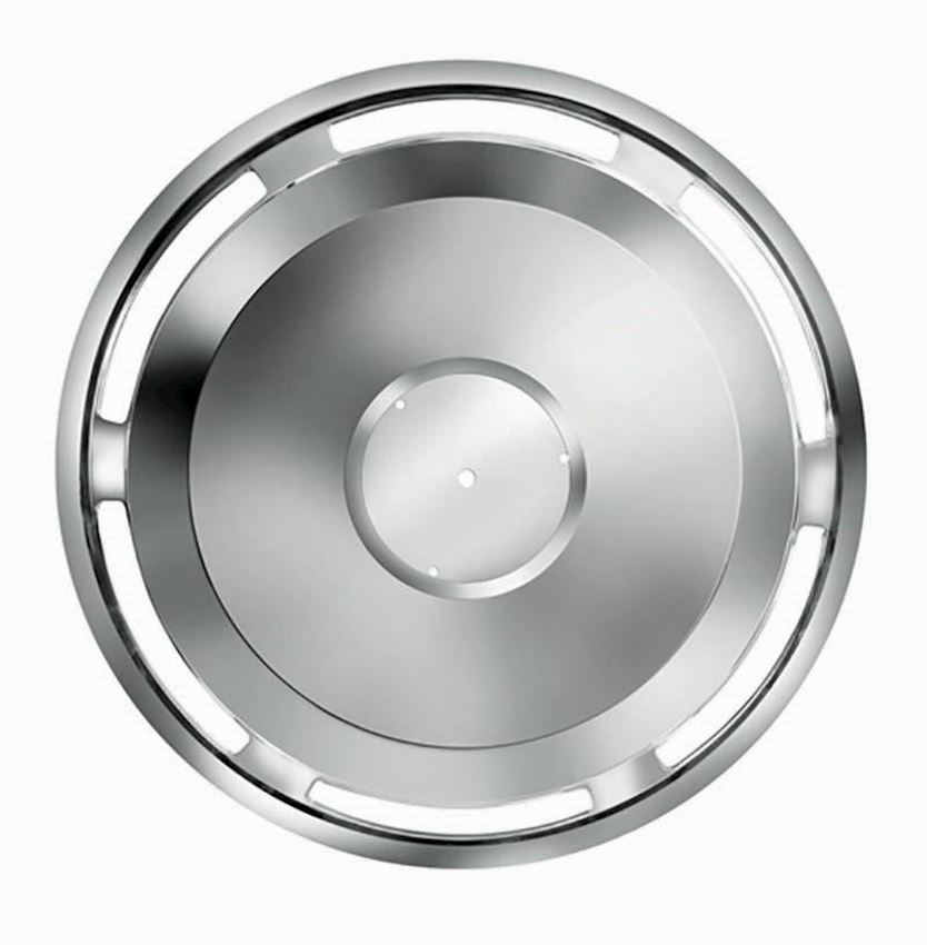 22,5'' 403 MODEL STAINLESS WHEEL COVER FRONT