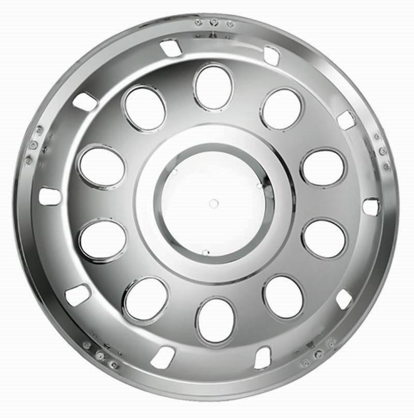 22,5'' WITH HOLE MODEL STAINLESS WHEEL COVER