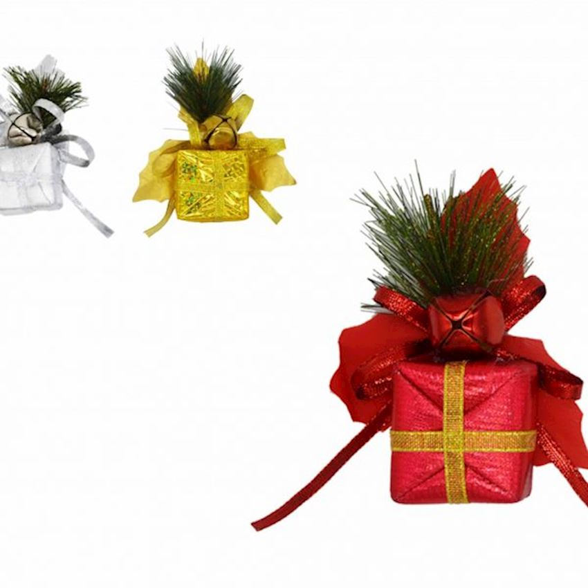 2li Pomegranate Bell Gift Box Christmas Ornament Christmas Decoration Supplies
