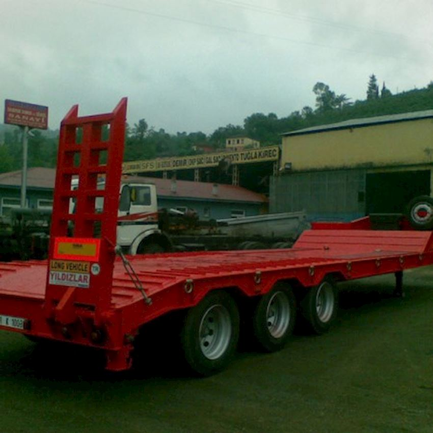 3 AXLE LOWBED Truck Trailers