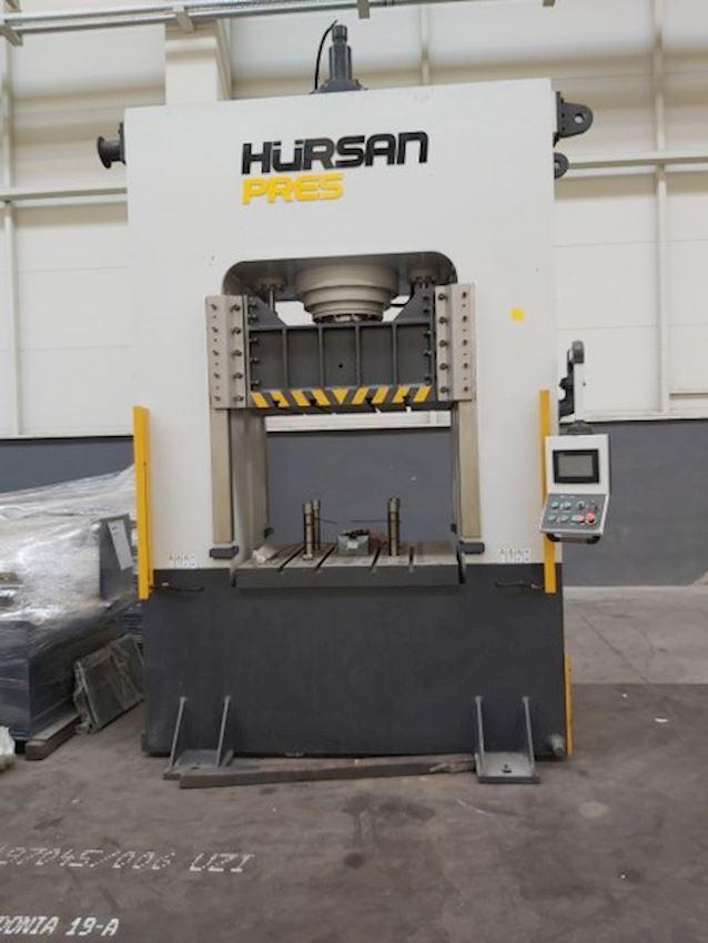 300 Ton Hürsan Sıvama Presi 2013 Model Tabla 1200 x 1000