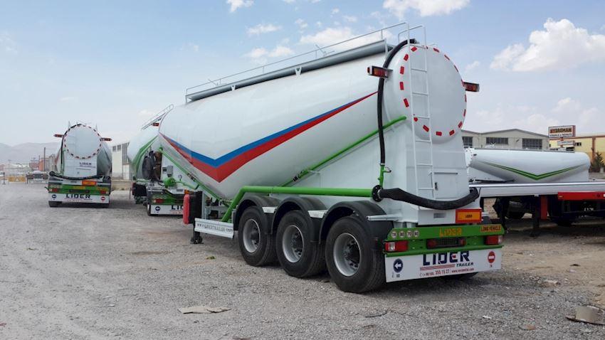 35 M³ Bulk Cement Trailer