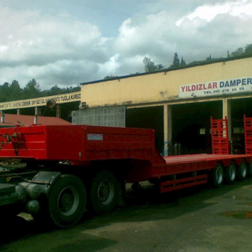 4 AXLE LOWBED Truck Trailers