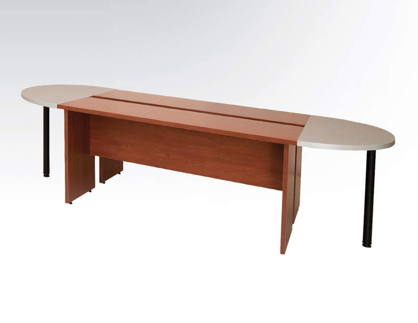 """4 LİNE TREND Chipboard Legs """"O"""" MEETING TABLE Conference Tables"""