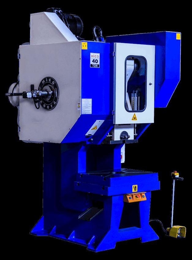 40 Ton Pneumatic Clutch Angling Eccentric Press