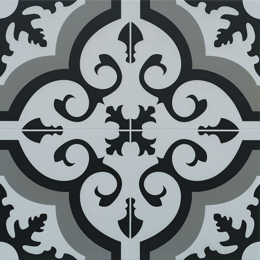 40×40 Hürrem Antracite Ceramics