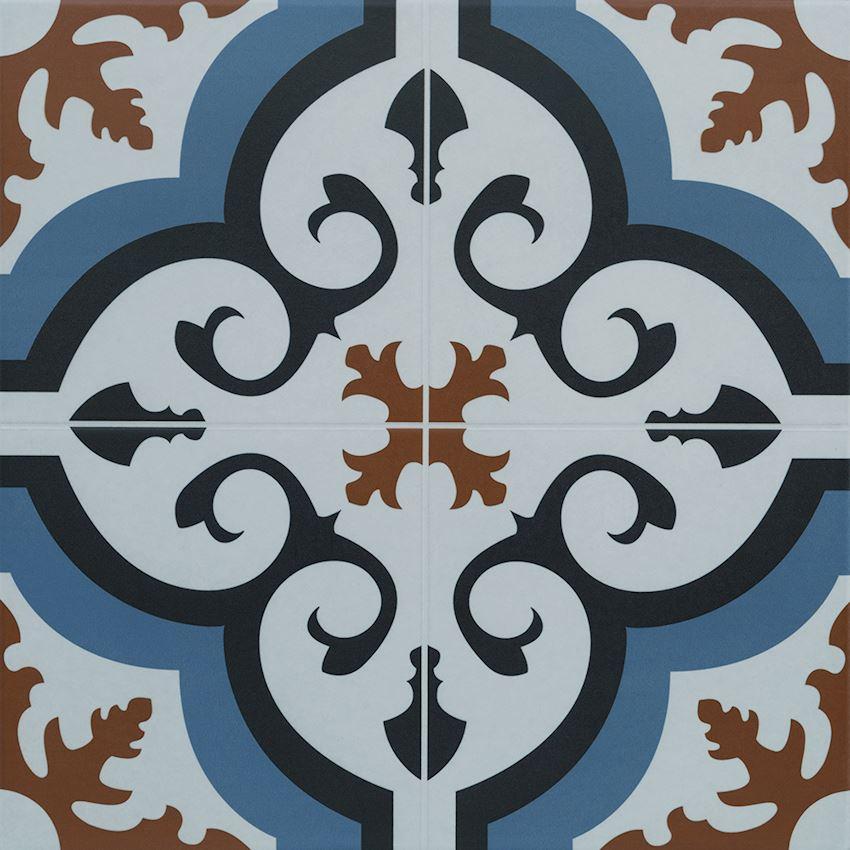 40×40 Hürrem Blue Ceramics
