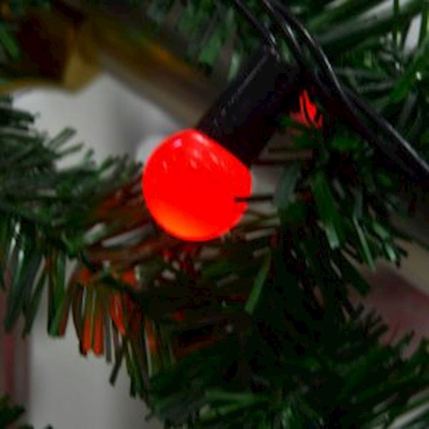 40s Top Led Light 6mt Red Christmas Decoration Supplies