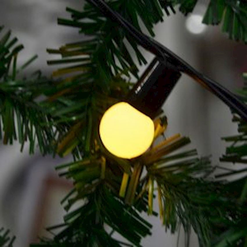 40s Top Led Light 6mt Yellow Christmas Decoration Supplies