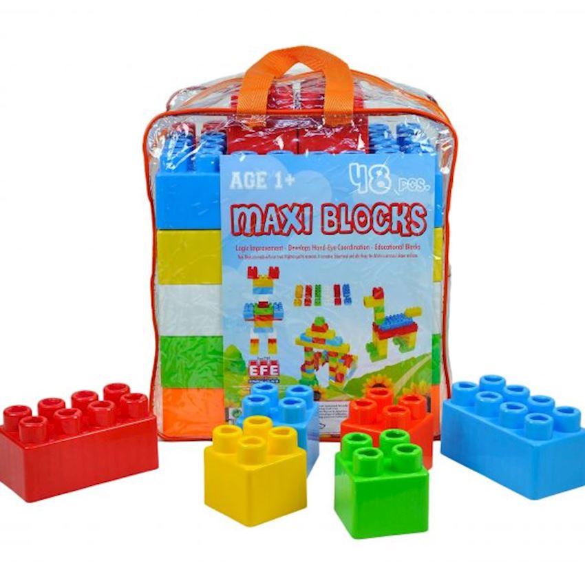 48 Pcs Maxi Block Block Toys