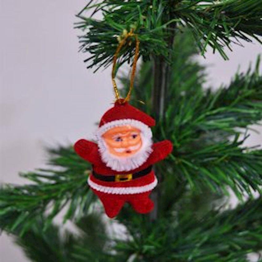 6 pcs Santa Claus Christmas Tree Decoration 6cm Christmas Decoration Supplies