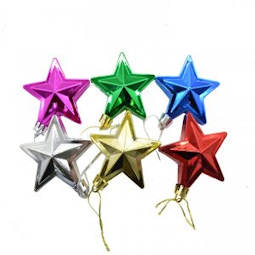 6 Star Sweet Christmas Tree Ornament Assortment Christmas Decoration Supplies