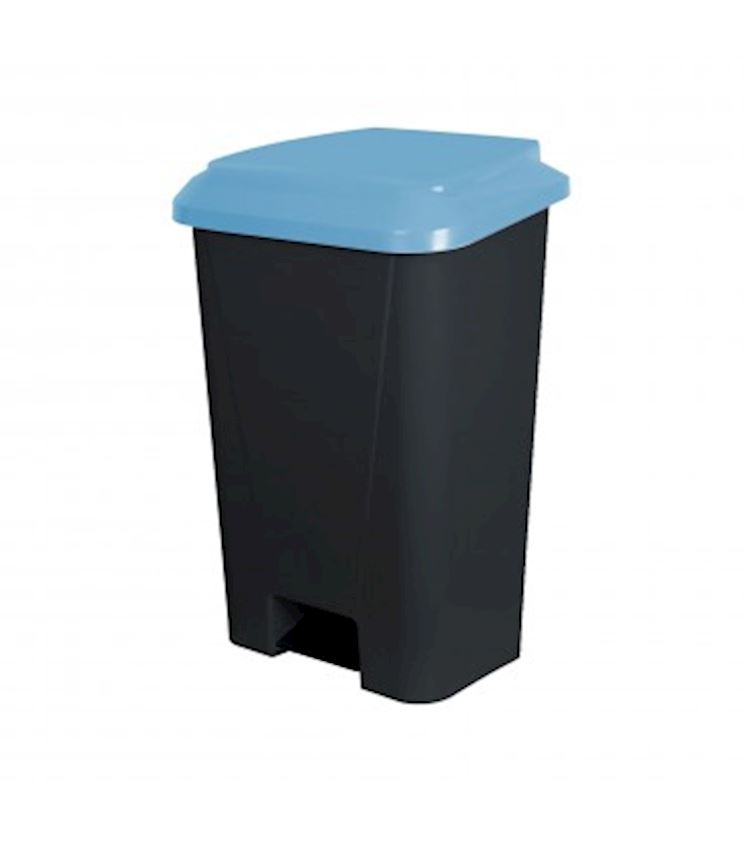 60 Liter Pedal Covered Dustbin Waste Bins