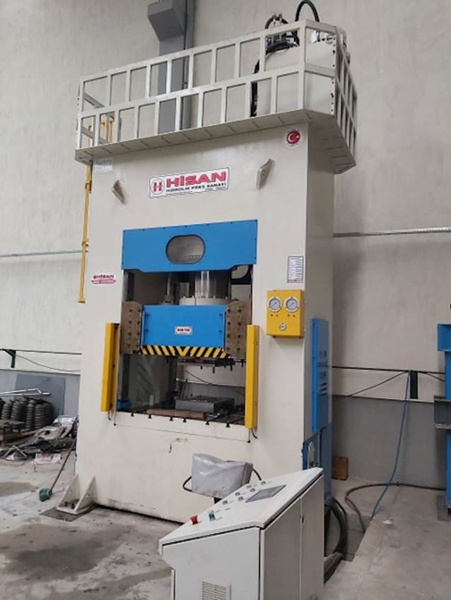 600 Tons Hisan Brand Plastering Press