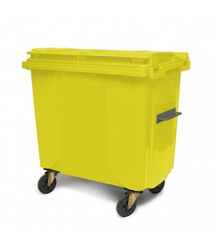 660 Liter Waste Container Waste Bins
