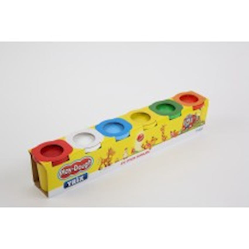 6-Piece Great Play Dough Playdough Toys