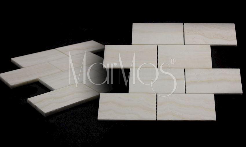 7.5cm x 15cm Akdag Onix Marble Stone