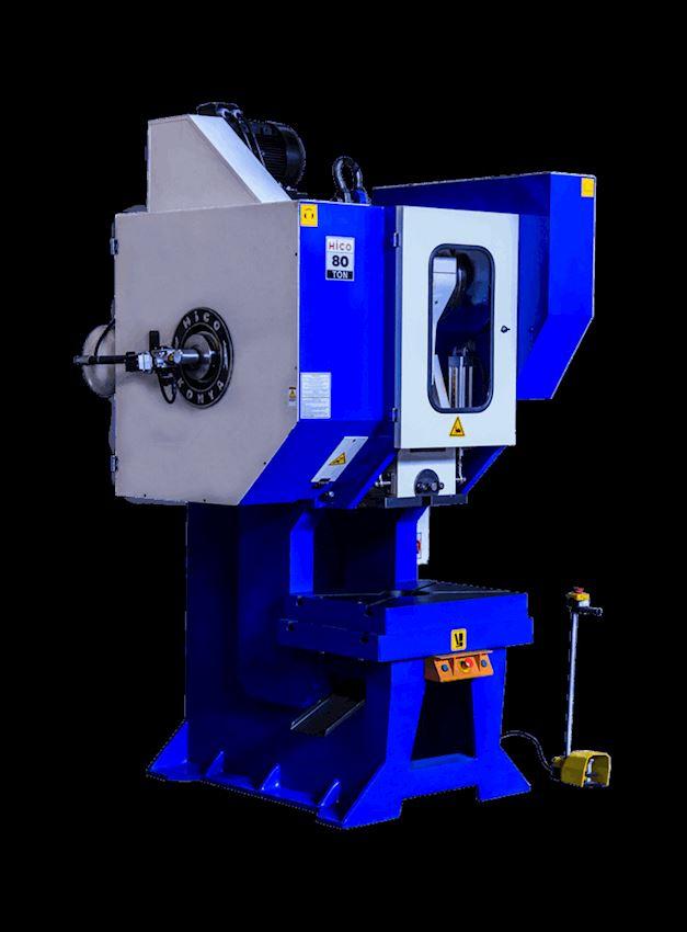80 Ton Pneumatic Clutch Angling Eccentric Press